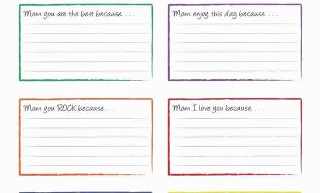 004 Template Ideas Free Index Card X Google Docs Note Design for Google Docs Index Card Template
