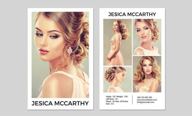 031 Model Comp Card Template Outstanding Ideas Psd Free regarding Comp Card Template Download