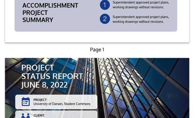 30+ Business Report Templates Every Business Needs - Venngage regarding Best Report Format Template