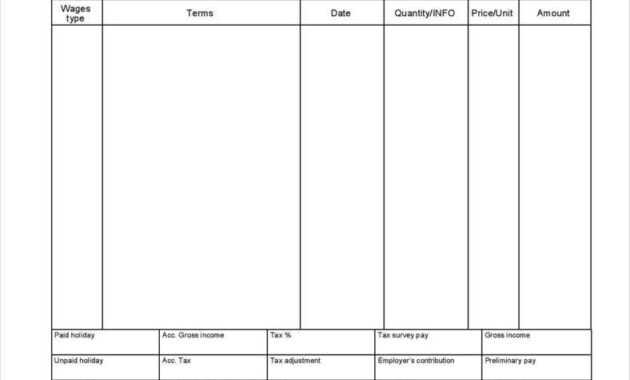 Blank Pay Stub - Mahre.horizonconsulting.co with regard to Blank Pay Stubs Template