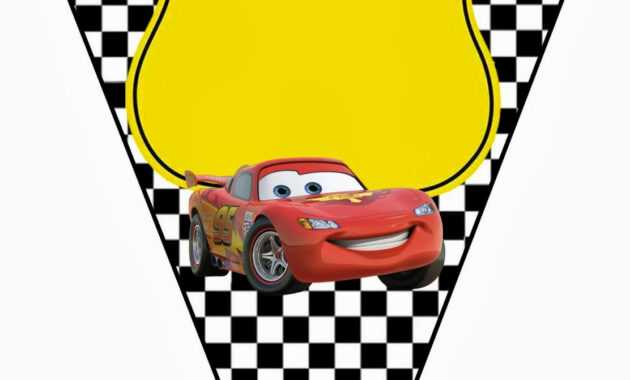 Cars: Invitations And Free Party Printables. - Oh My Fiesta intended for Cars Birthday Banner Template