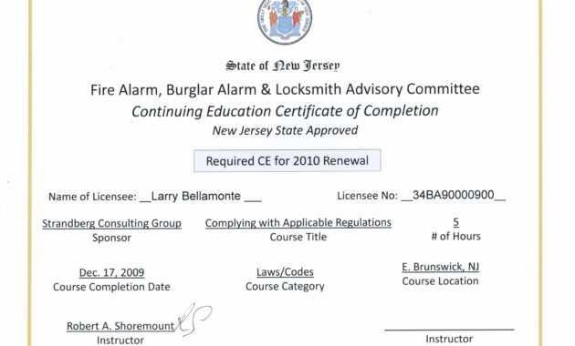 Continuing Education Certificate Template - Zohre with Ceu Certificate Template