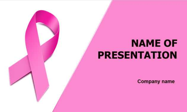 Download Free Breast Cancer Powerpoint Template And Theme within Free Breast Cancer Powerpoint Templates