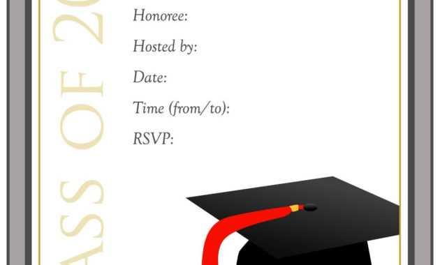 Download Graduation Invitation Template - Mahre in Graduation Invitation Templates Microsoft Word