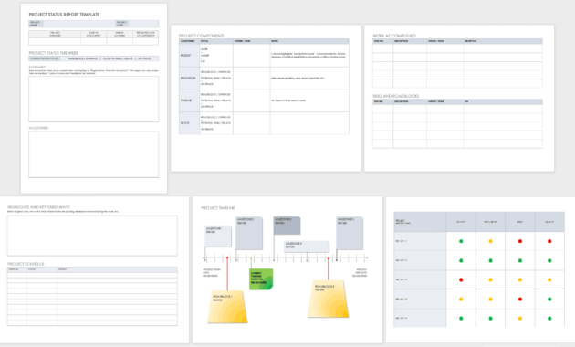 Free Project Report Templates   Smartsheet throughout Work Summary Report Template