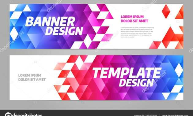 Layout Banner Template Design For Sport Event 2019 — Stock inside Sports Banner Templates