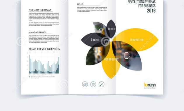 Tri-Fold Brochure Template Layout, Cover Design, Flyer In A4 with regard to Engineering Brochure Templates